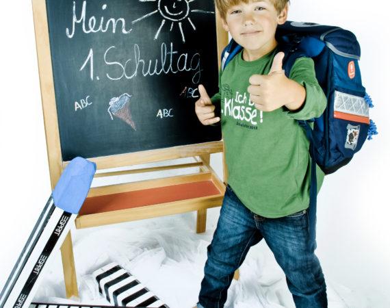Erster Schultag in Ahlen